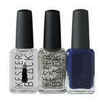 kester black glitter bomb nail polish set