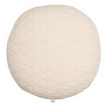 quilted round cushion