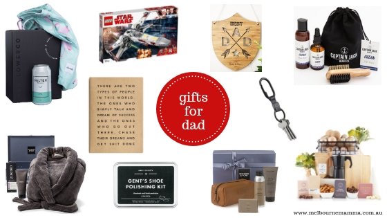 Melbourne Mamma - Melbourne Christmas Gift Guide 2018 - Christmas Gifts for Dad