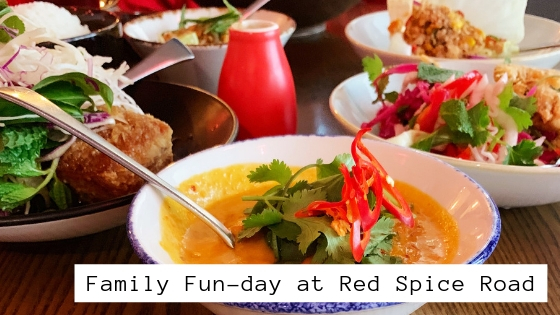family fun day lunch at red spice road melbourne