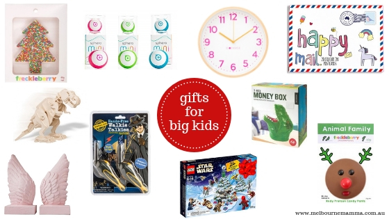 Melbourne Mamma - Melbourne Christmas Gift Guide 2018 - Christmas Gifts for Big Kids