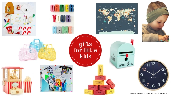 Melbourne Mamma Christmas Gift Guide 2018 - Christmas Gifts for Little Kids