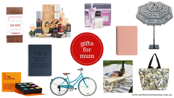Melbourne Mamma - Melbourne Christmas Gift Guide 2018 - Christmas Gifts for Mums