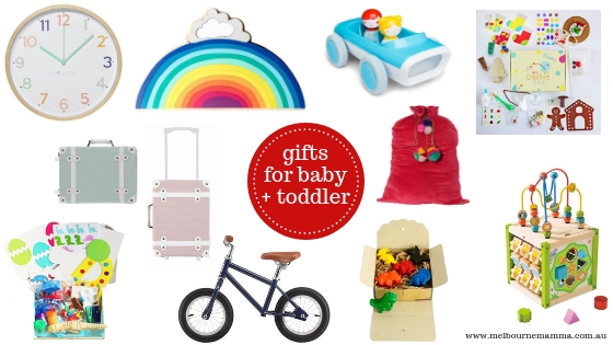 Melbourne Mamma Christmas Gift Guide 2018 - Christmas Gifts for Babies and Toddlers