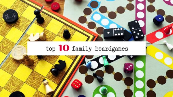 My Top 10 Family Board Games blog